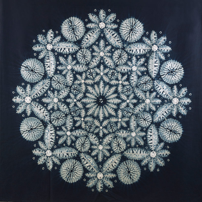 'Kaleidoscope' 150cm sq