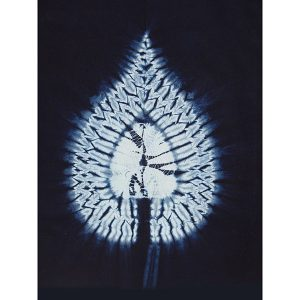 Large Shibori Template 2A