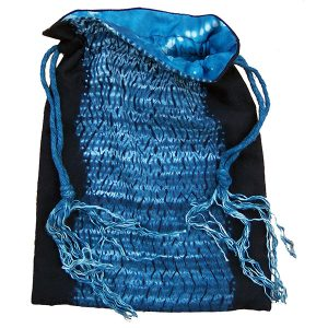 Shibori Kinchaku Bag downloadable instructions by Jane Callender