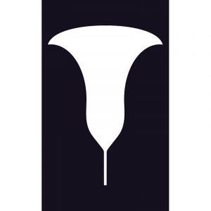 Trumpet shibori stencil