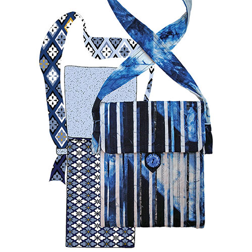 Making-up instructions for shibori fabric